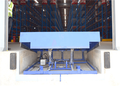 docking and warehousing solution